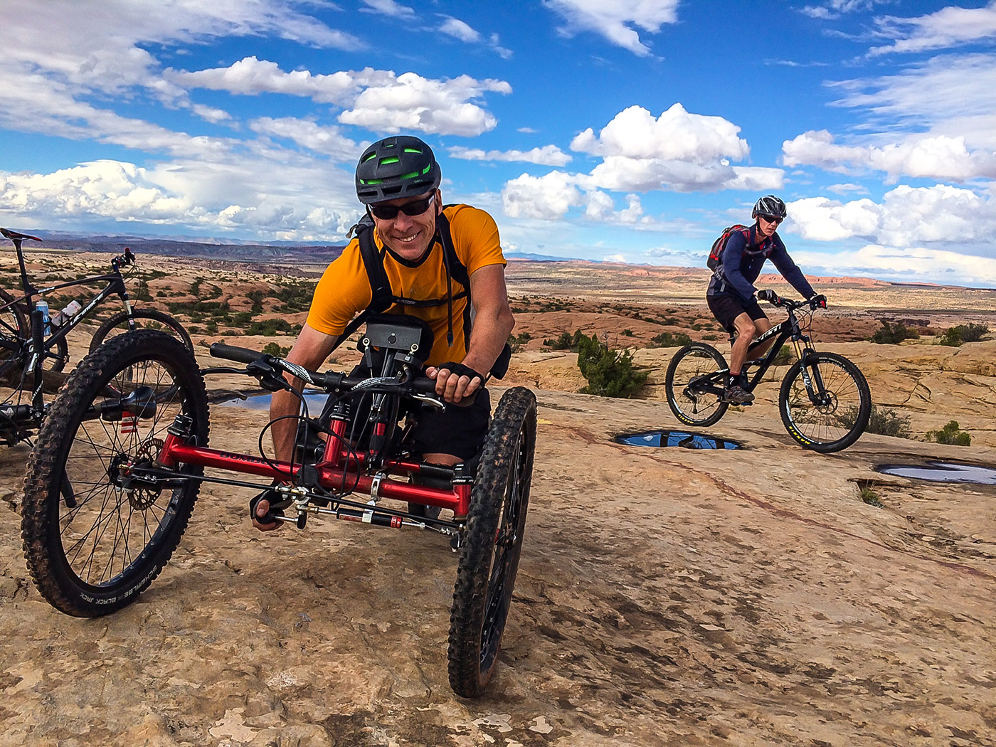 Telluride Adaptive Sports - Biking - Moab Mania