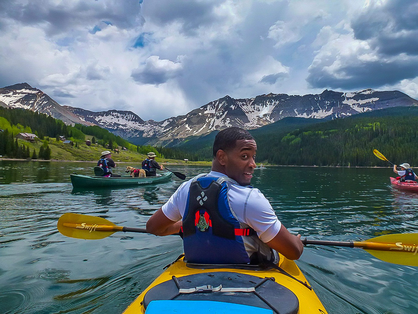 Telluride Adaptive Sports - Kayaking