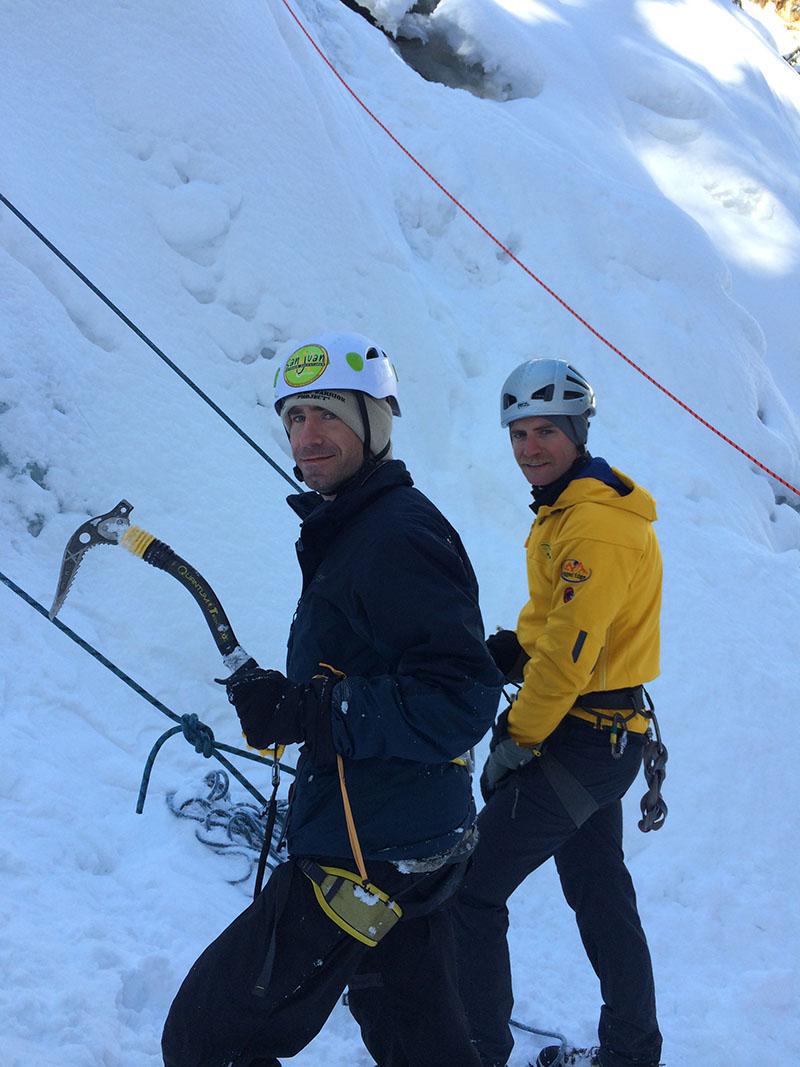 Ice Climbing Telluride Adaptive Sports Program